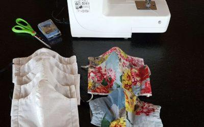 Fabrication de masques en tissu pour les Tresserviens